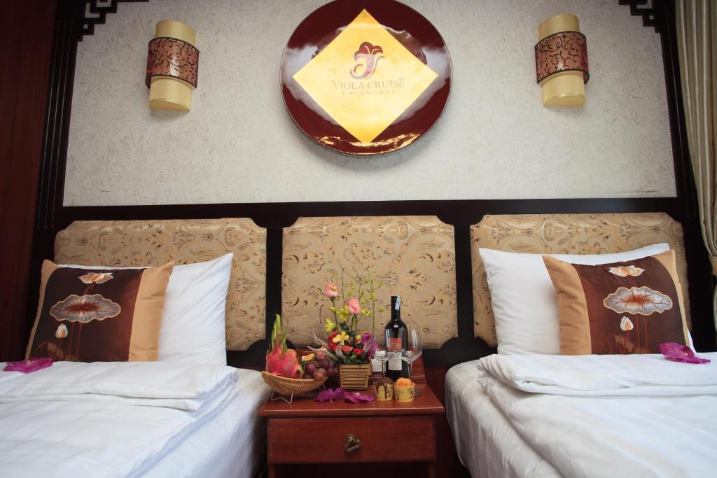 Cabin Deluxe Giường Đôi/2 Giường Đơn - 3 Ngày 2 Đêm