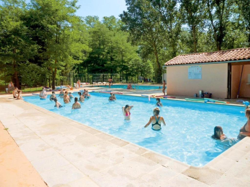 Campingplatz mobilhome modèle luxe 3 chambres (Frankreich ...