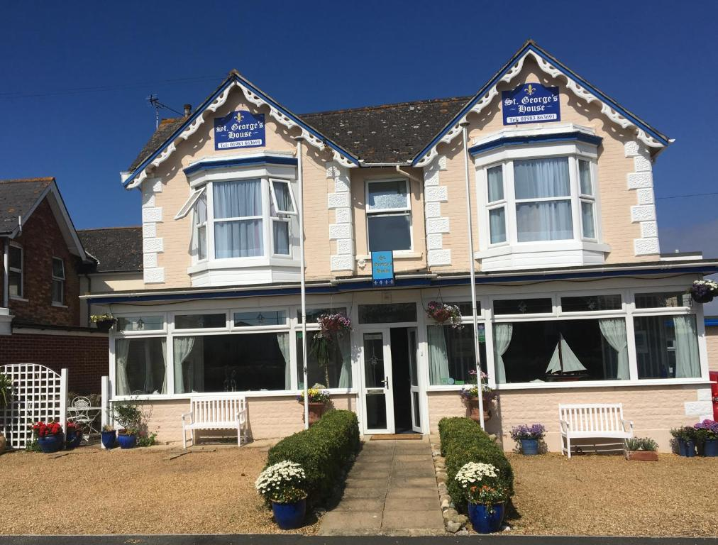 St. Georges House in Shanklin, Isle of Wight, England