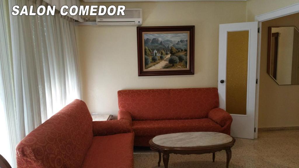 Fotos De Salon Comedor.Apartamentai Piso En Gandia Ciudad Ispanija Gandija