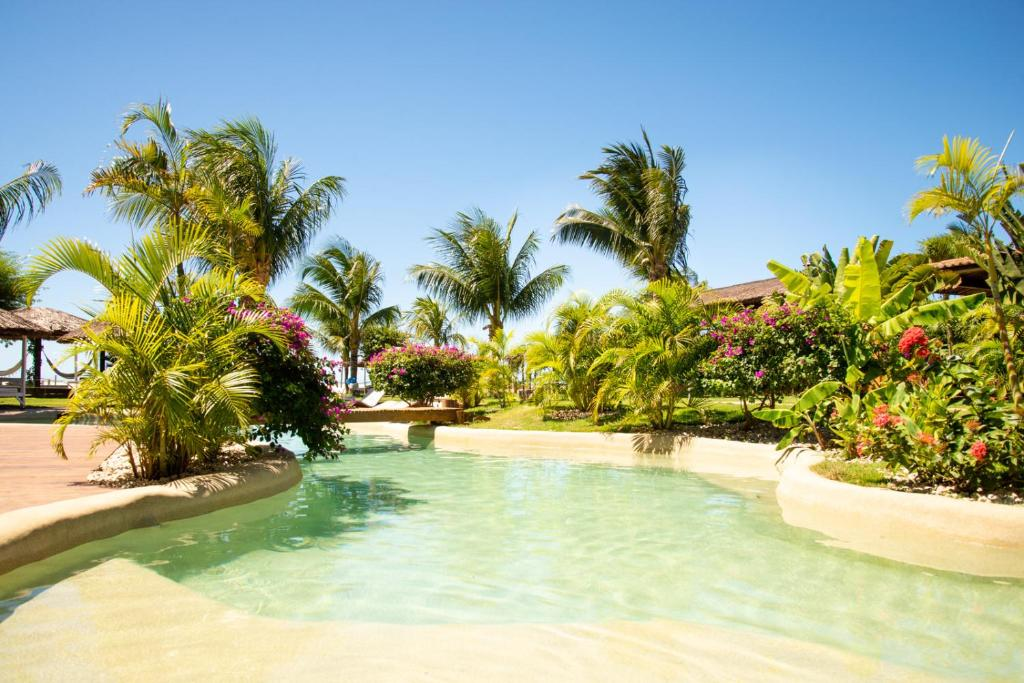 The swimming pool at or near Pousada Mi Secreto