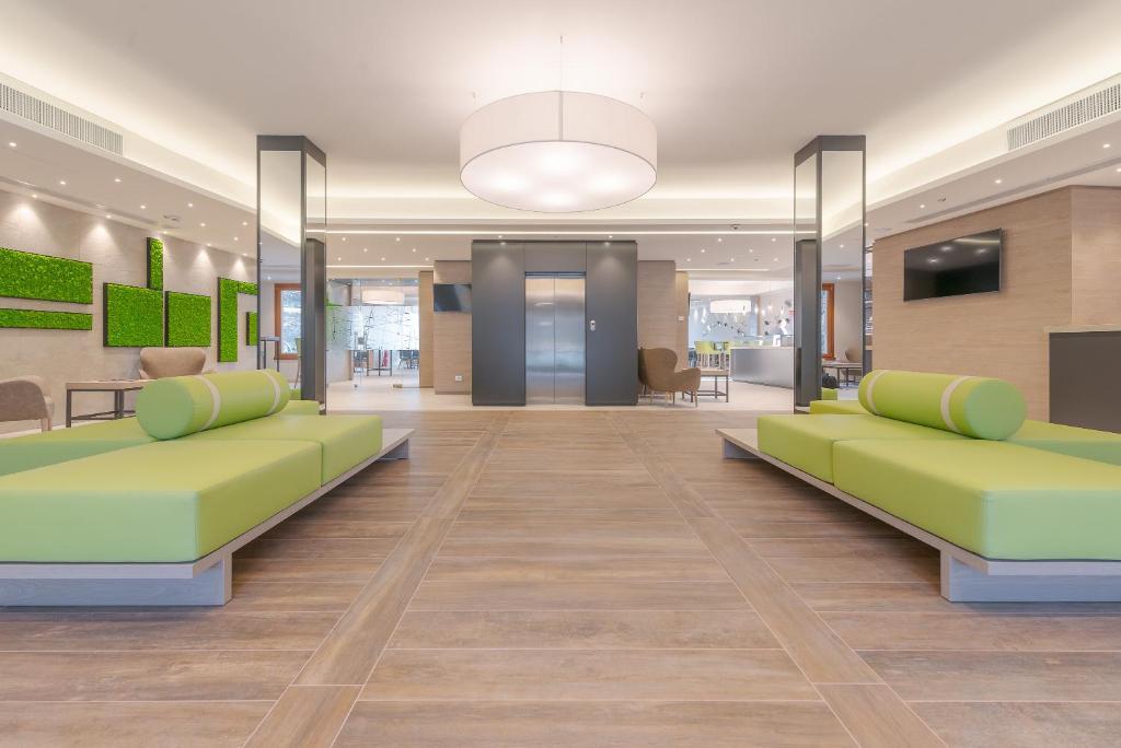 El vestíbulo o zona de recepción de Horizon - Wellness & Spa Resort