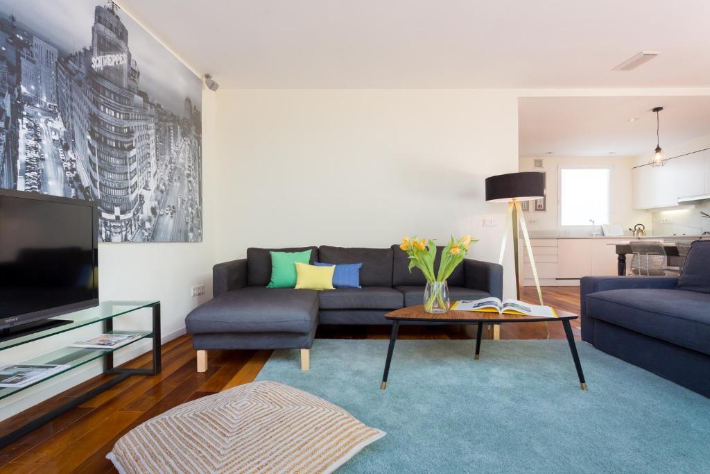 Apartment Vanrays Súper Luminoso Dúplex Con Madrid Spain