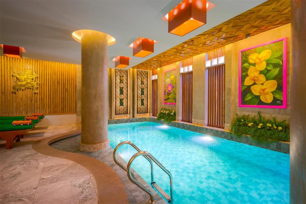 The swimming pool at or near Ta Prohm Hotel & Spa