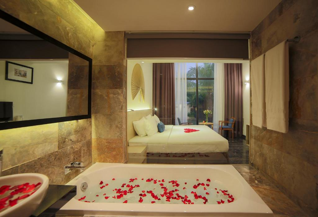 Phòng Deluxe có Giường cỡ King Nhìn ra Khu vườn
