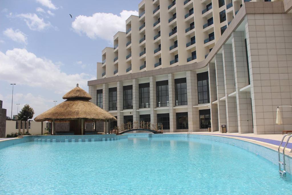 Piscina di Ethiopian Skylight Hotel o nelle vicinanze