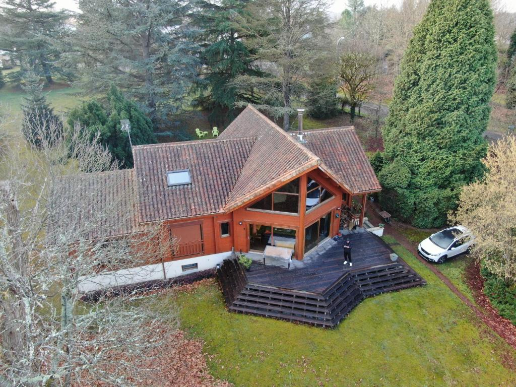 Constructeur Maison En Bois Limoges chambres d'hôtes chalet, condat-sur-vienne, france - booking