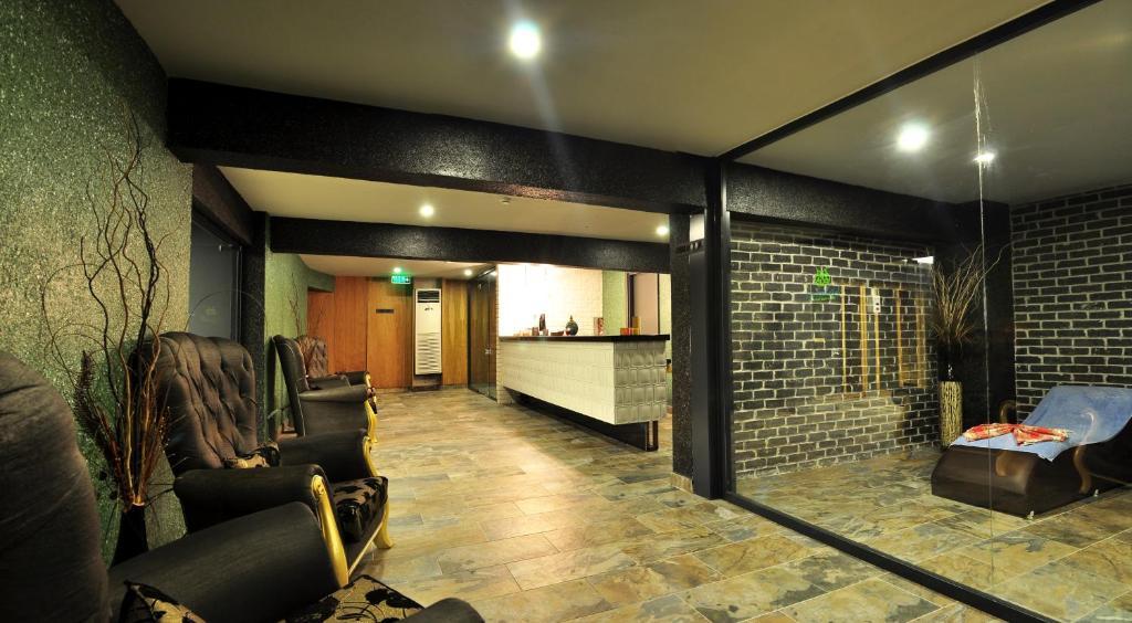 Лобби или стойка регистрации в Oba Star Hotel - Ultra All Inclusive