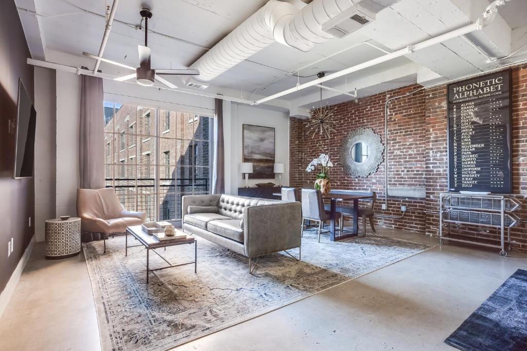 Apartment Brick Loft, Atlanta, GA - Booking.com