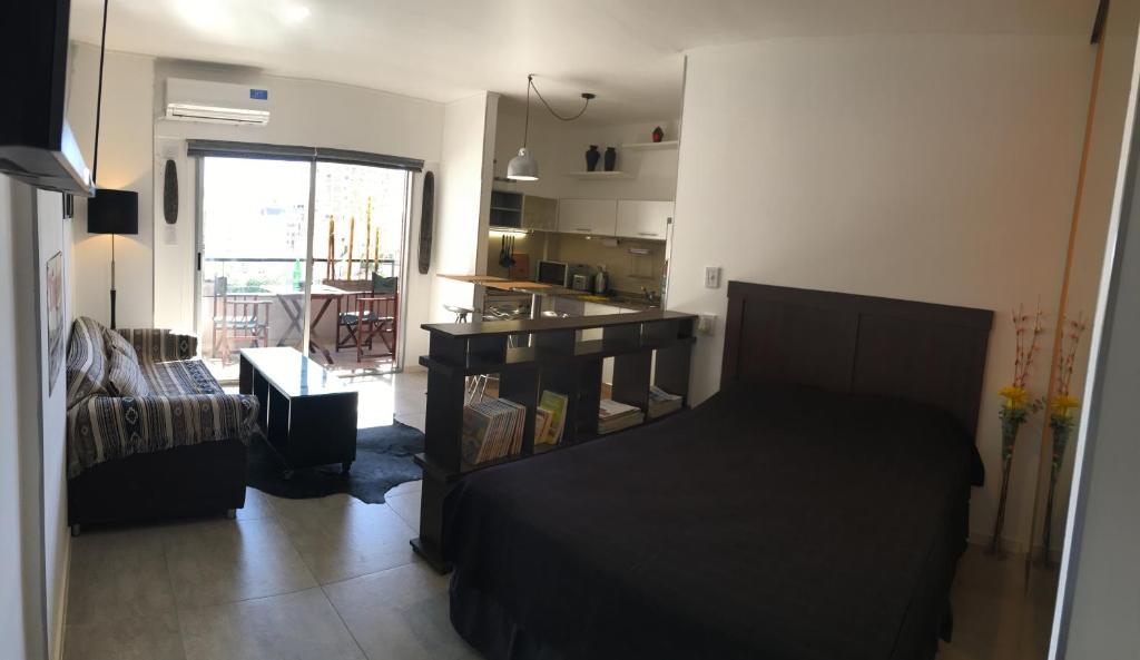Un lugar para sentarse en Exclusivo departamento en Palermo
