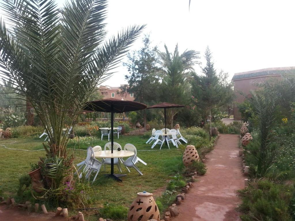 Um jardim em Jnane-Dar Diafa