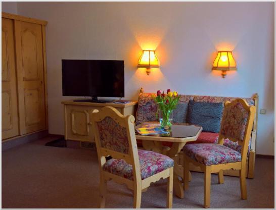 TV/Unterhaltungsangebot in der Unterkunft Gasthof-Pension Rotes Haus
