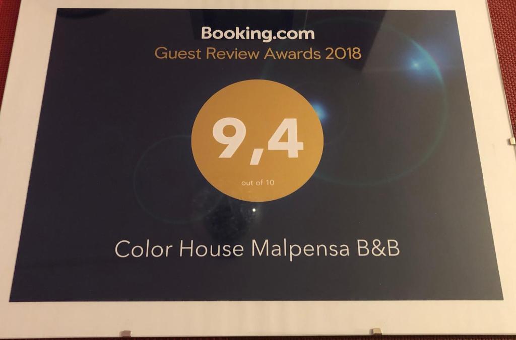 Color House Malpensa B B Cassano Magnago Italy Booking Com