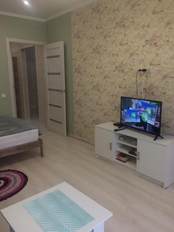 Телевизор и/или развлекательный центр в Апартаменты на Самолете