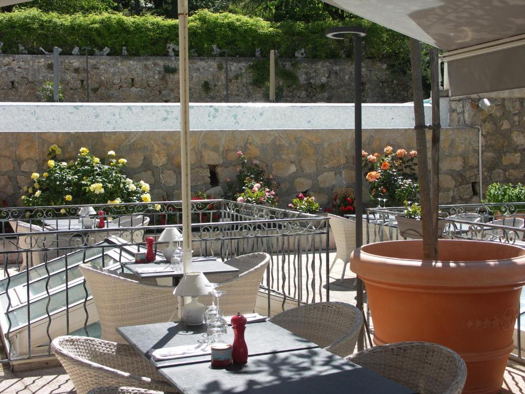 Ristorante o altro punto ristoro di Hôtel La Bonne Auberge