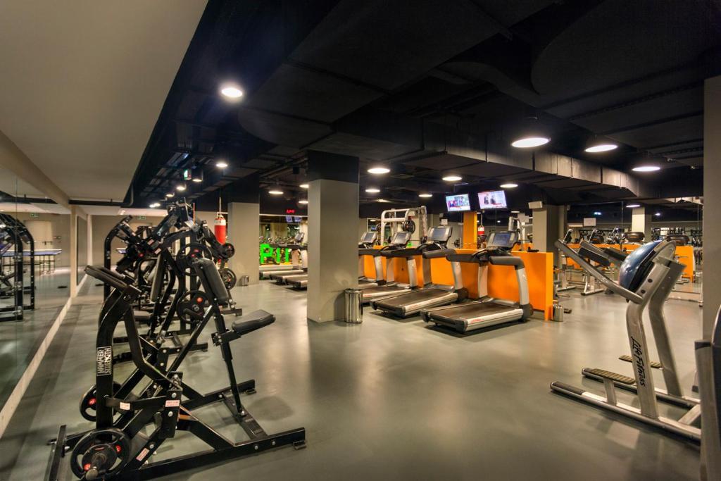 Фитнес-центр и/или тренажеры в Fraser Place Anthill Istanbul