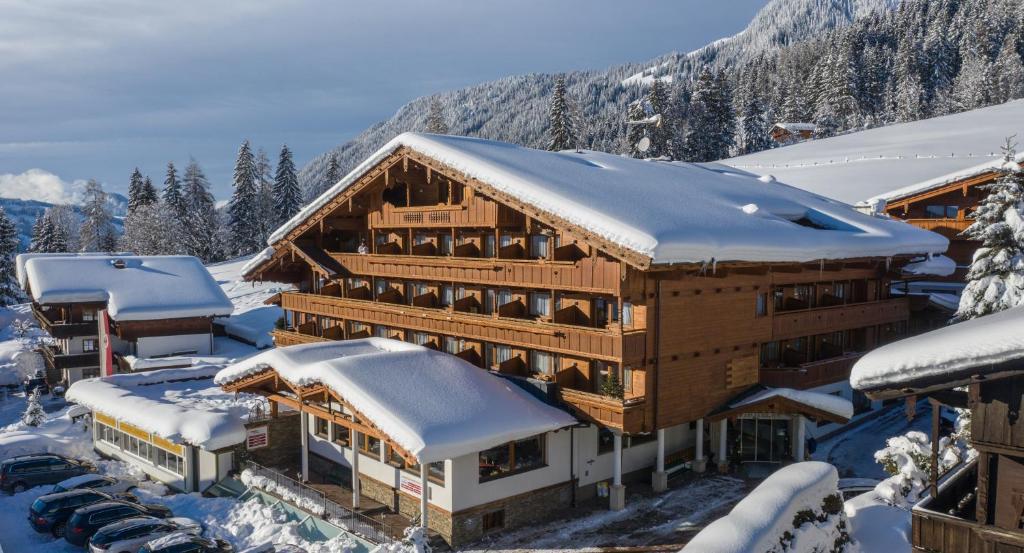 Hotel Alphof in de winter