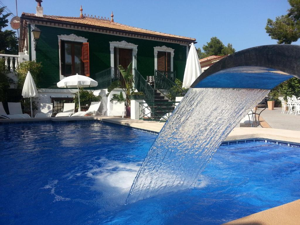 The swimming pool at or close to Hotel Palau Verd - Adults Only