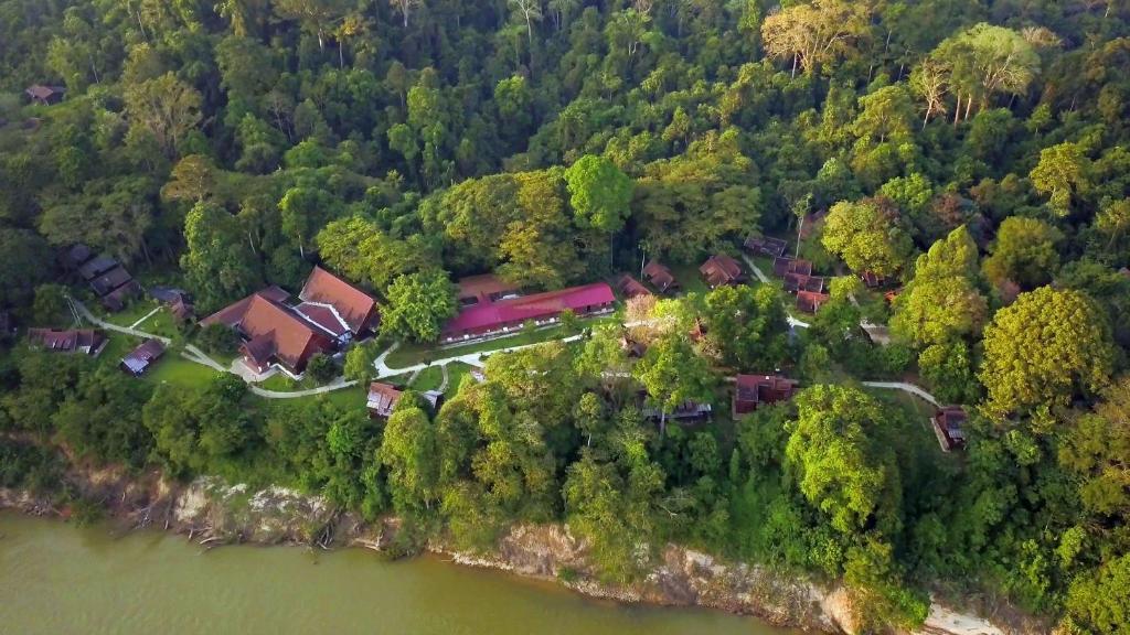 Blick auf Mutiara Taman Negara Resort aus der Vogelperspektive