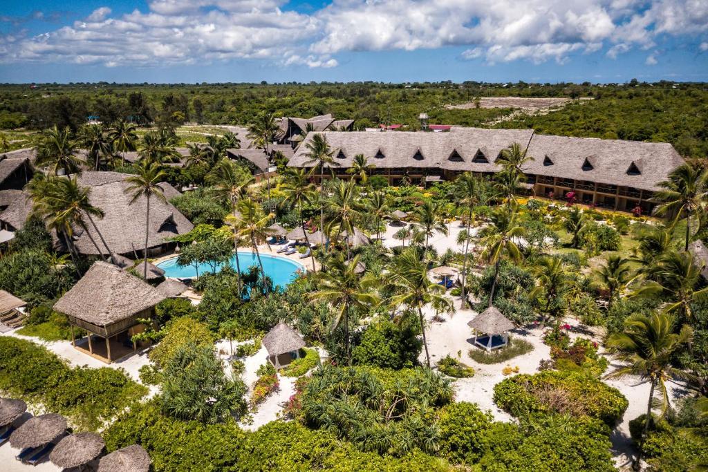A bird's-eye view of Zanzibar Queen Hotel