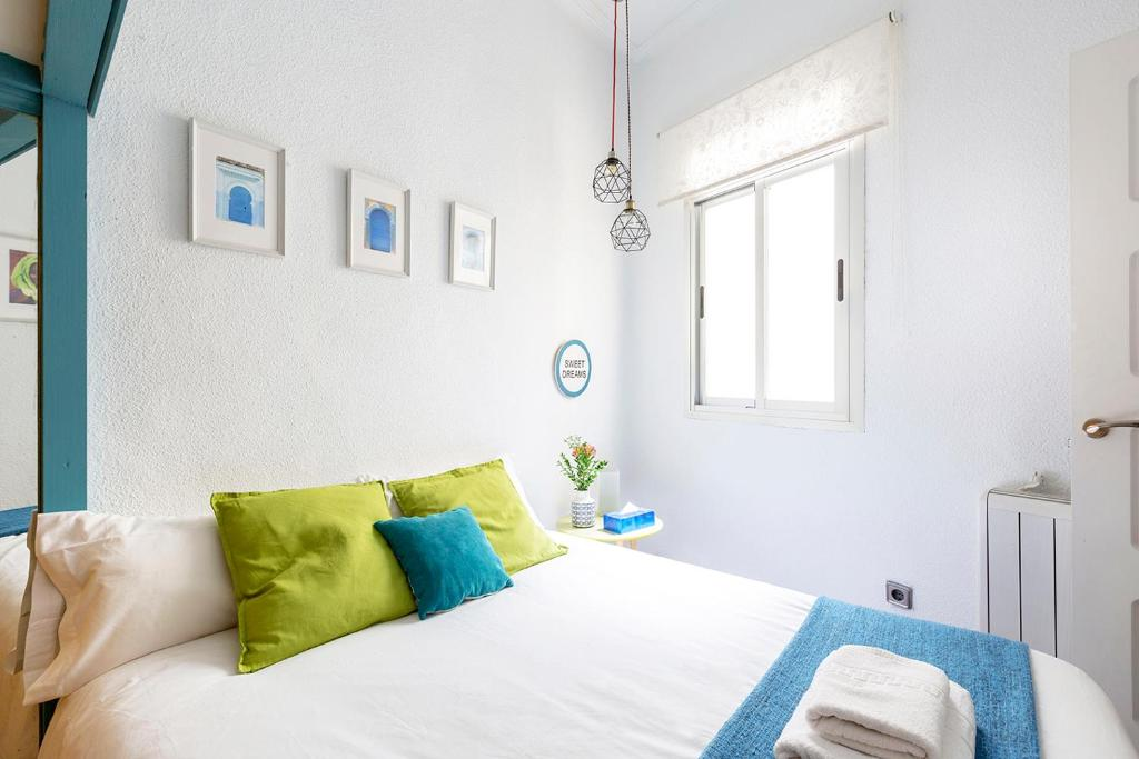 Ein Bett oder Betten in einem Zimmer der Unterkunft LA CHULAPA
