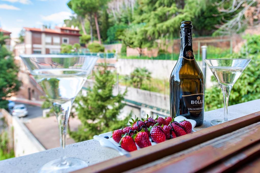 Drinks at L'Oasi Verde a San Pietro B&B