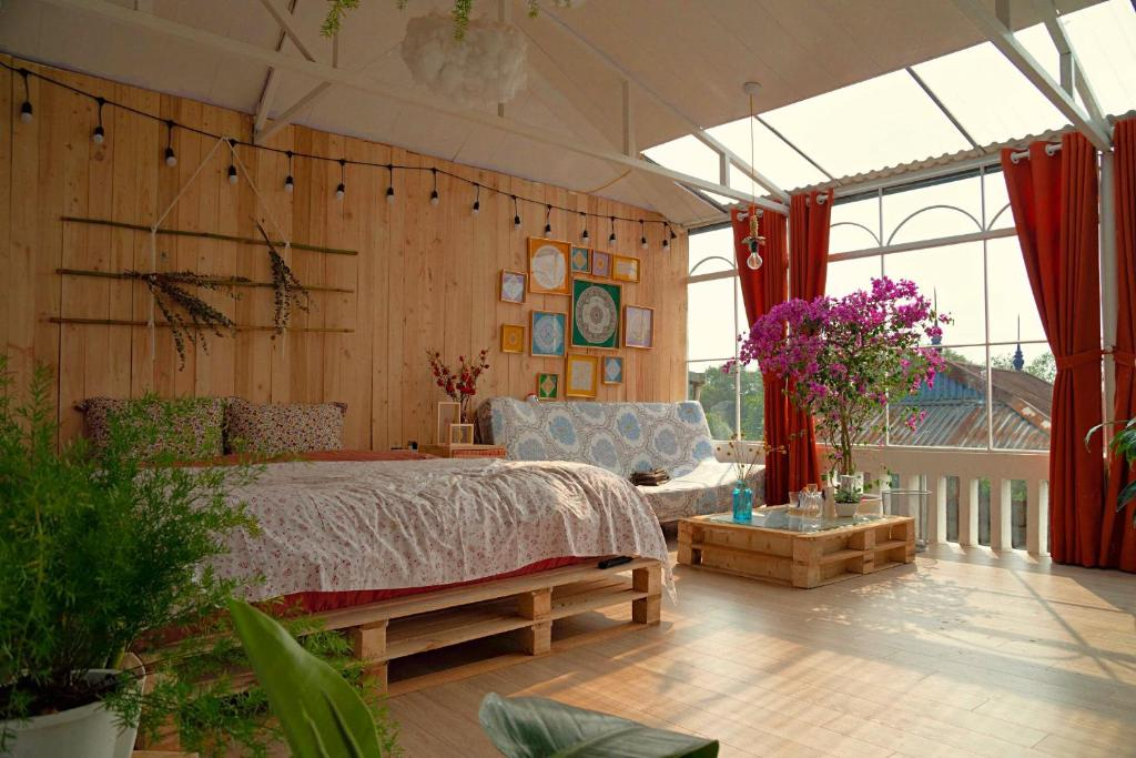 Phòng Giường Đôi Nhìn ra Công viên