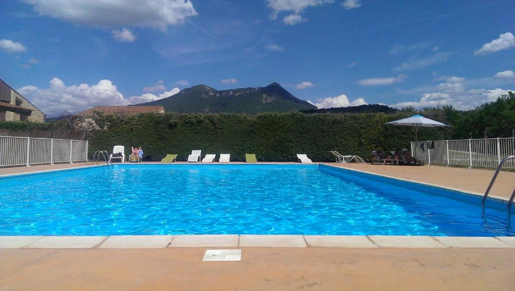 The swimming pool at or near Golf Hotel De Digne Les Bains