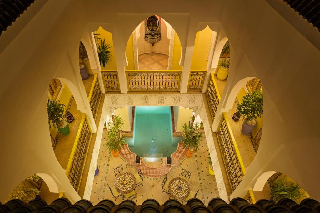 A view of the pool at Riad Sofia or nearby