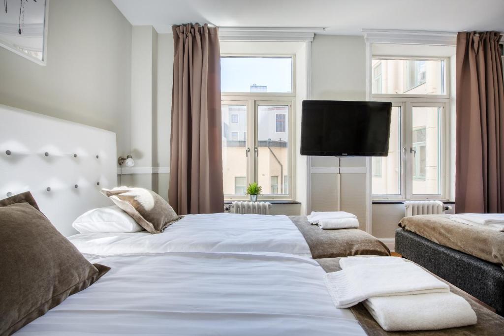 Lova arba lovos apgyvendinimo įstaigoje Hotell Göta Avenyn