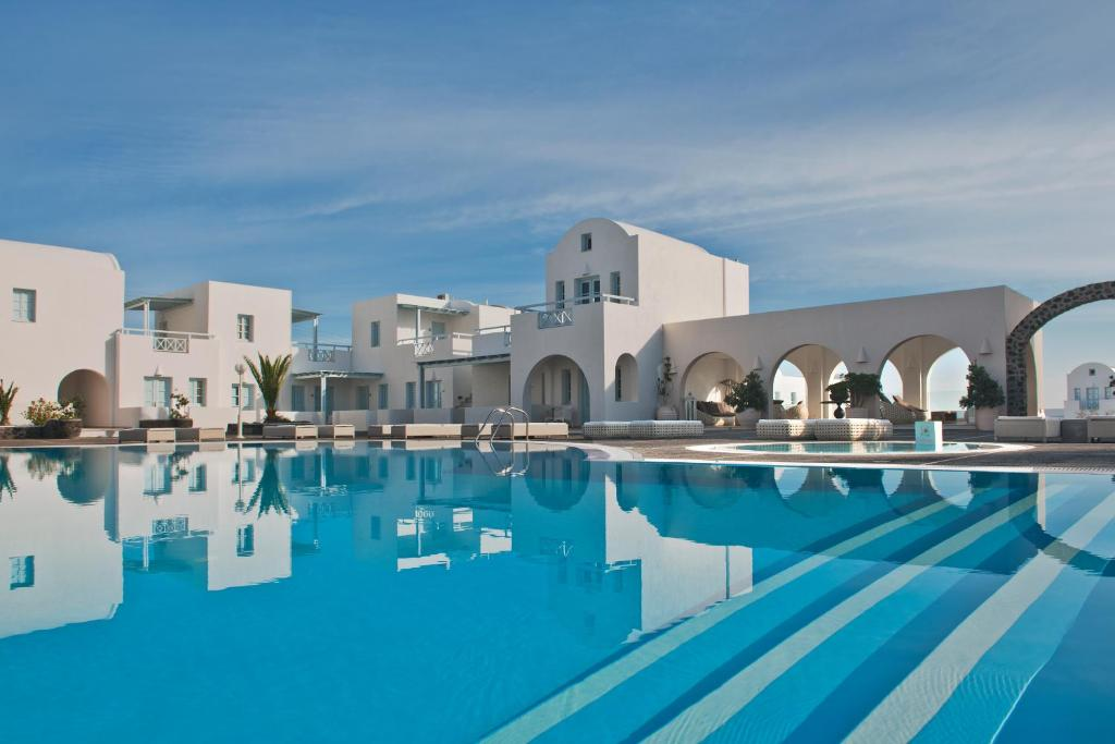 The swimming pool at or near El Greco Resort & Spa