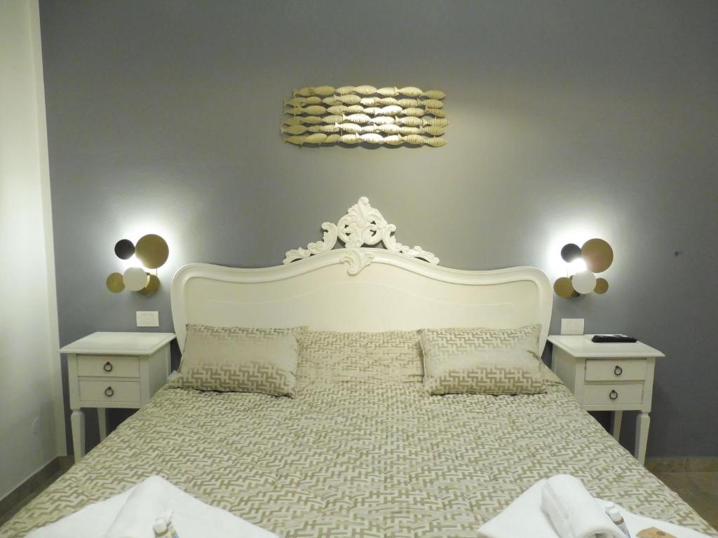 Cama ou camas em um quarto em Rio Groppo