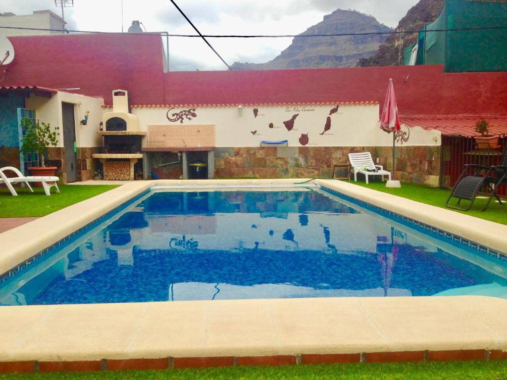 The swimming pool at or near Villa Goyita Hostel