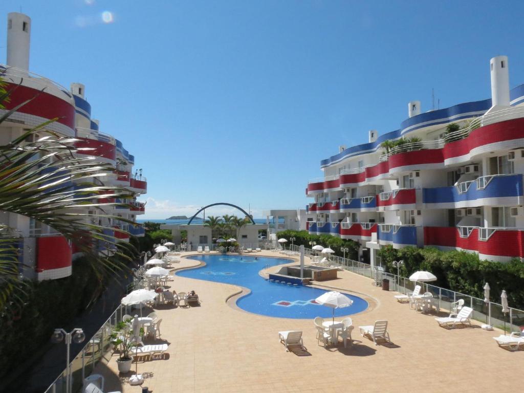 Vista de la piscina de Holiday Florianópolis - 146B o alrededores
