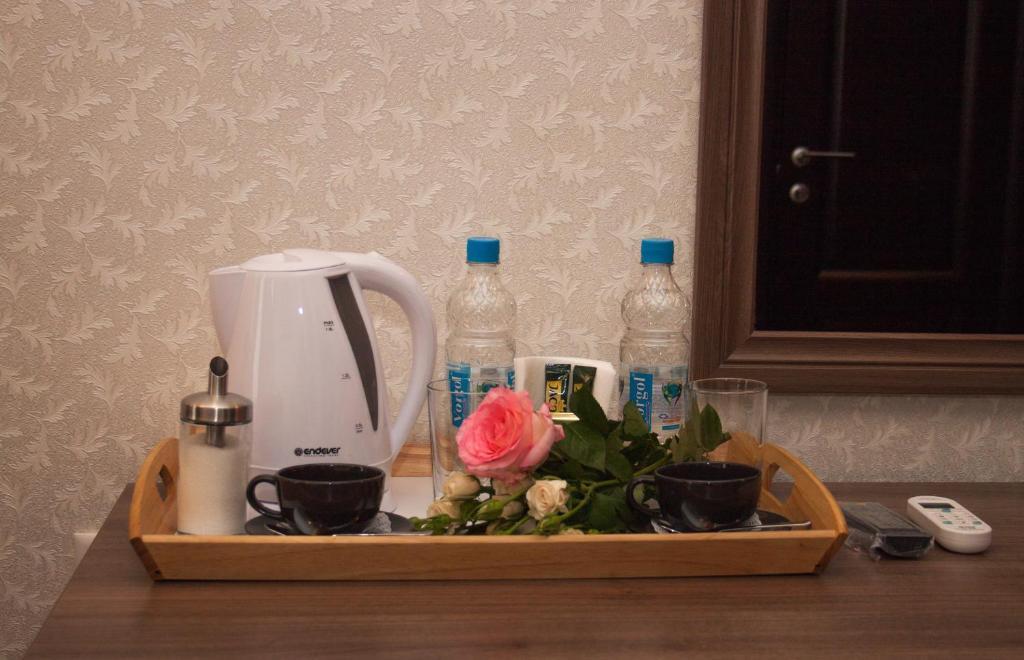 Принадлежности для чая и кофе в Мини-отель У Театра
