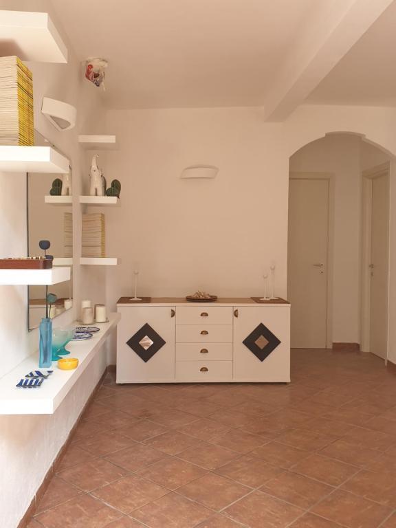 Cucina o angolo cottura di Casa Cabina