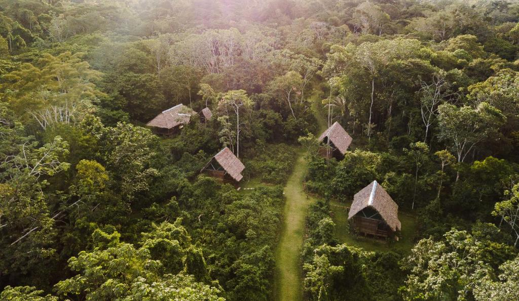 A bird's-eye view of Amak Iquitos Ecolodge - All Inclusive