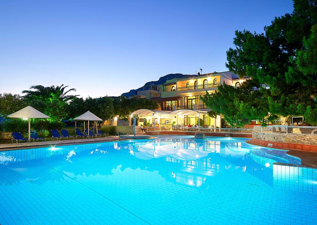 The swimming pool at or near Aroma Creta