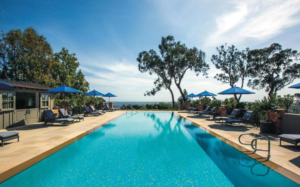 The swimming pool at or near Belmond El Encanto
