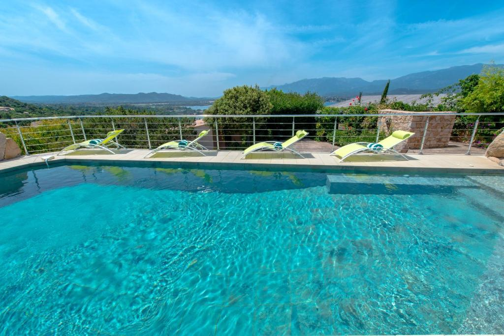 The swimming pool at or near Private Hôtel