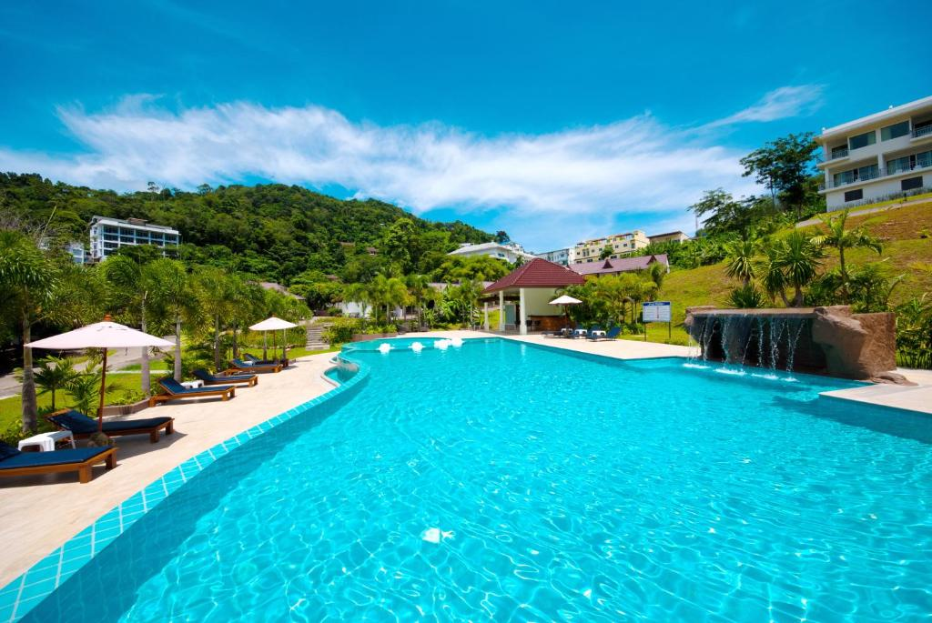 The swimming pool at or close to P.S Hill Resort
