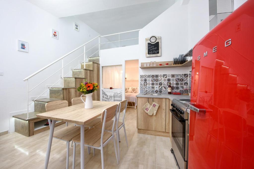 Cuisine ou kitchenette dans l'établissement La vecchia bottega del Nonno - Corfu