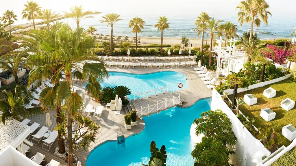 A view of the pool at Puente Romano Beach Resort or nearby