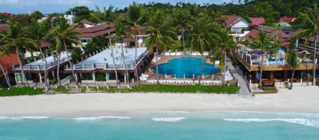 Blick auf Phangan Bayshore Resort Koh Phangan aus der Vogelperspektive