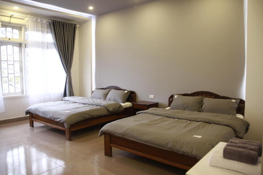 Phòng Deluxe Có 2 Giường Cỡ Queen