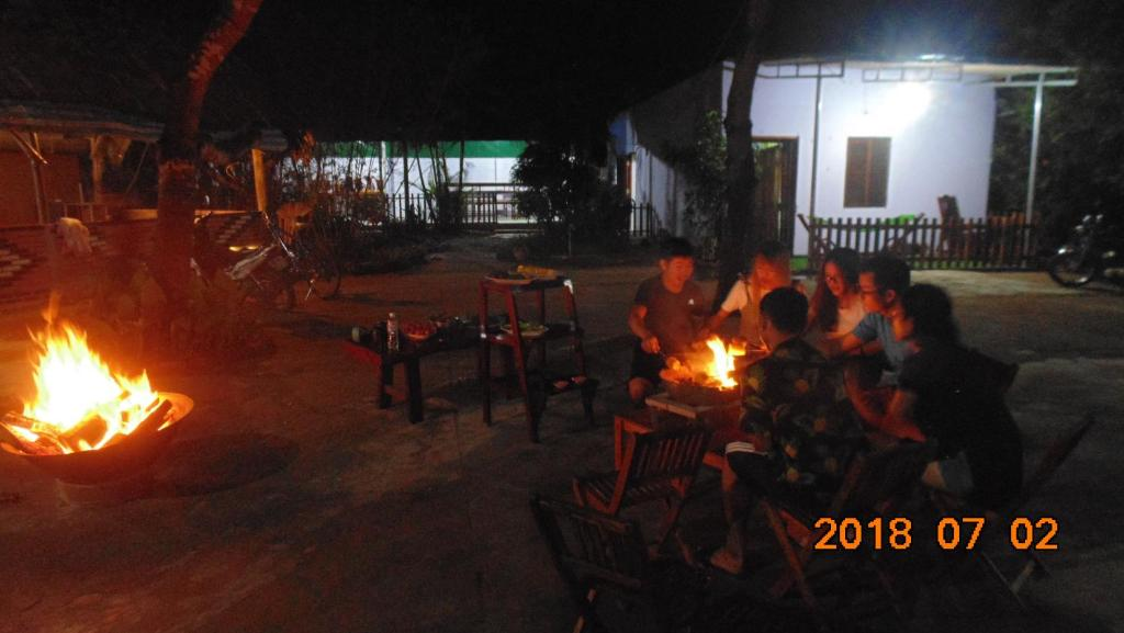 A restaurant or other place to eat at Adventure Trek Logde