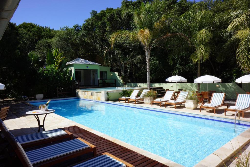 Swimming pool sa o malapit sa Pousada Aguas Claras