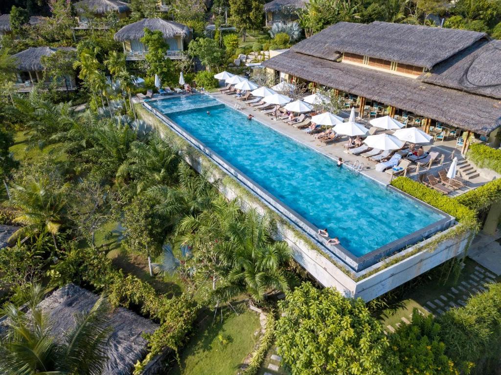 A bird's-eye view of Lahana Resort Phu Quoc