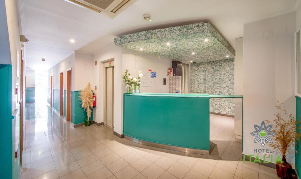 The lobby or reception area at Hotel Italia