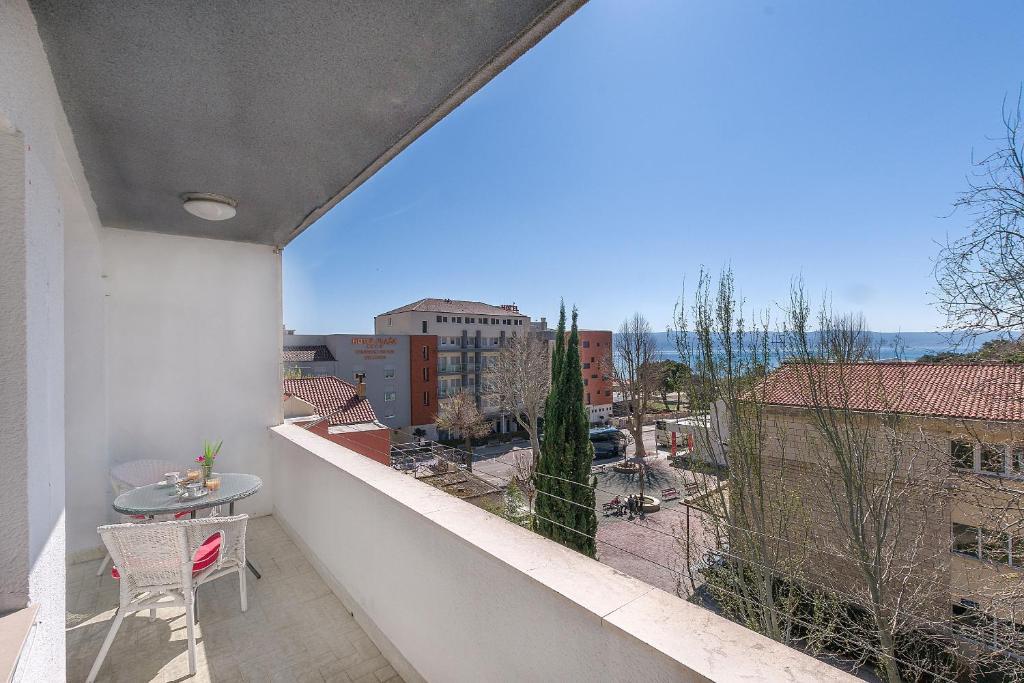 Balkon oz. terasa v nastanitvi Apartment Nansy